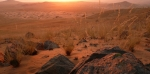Sunset in Kalahari